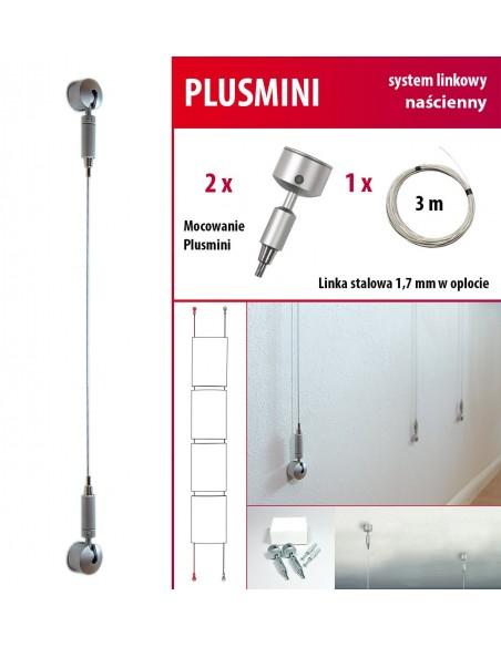 System naścienny Plusmini