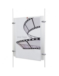 Panel Flyquick transparentny pionowy